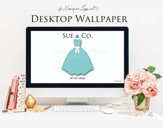 Tiffany Blue Dress Desktop Wallpaper by MLPhotographicArtist