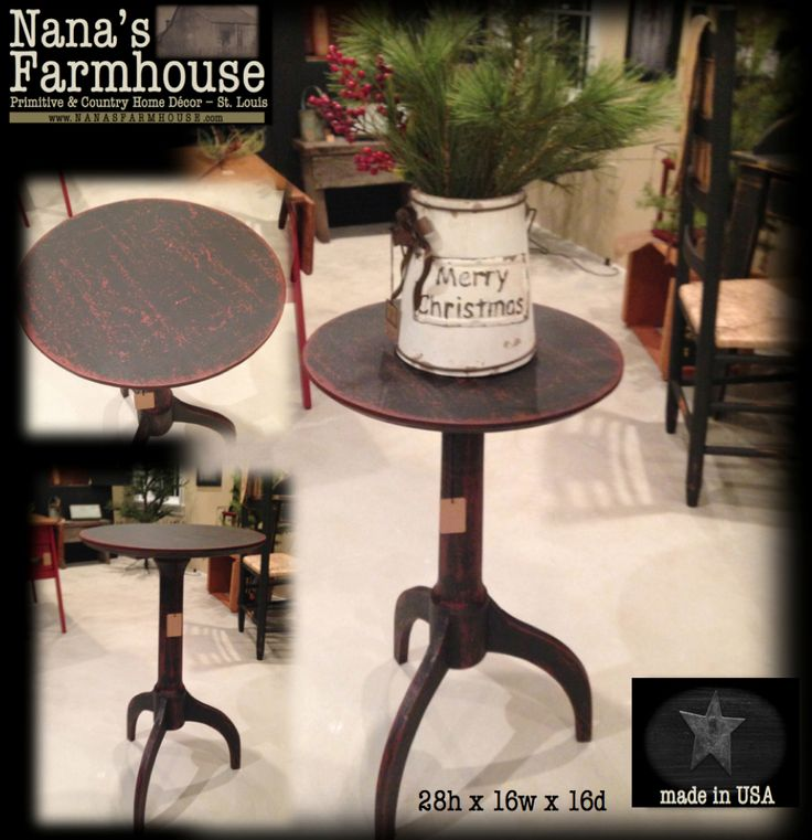 Heirloom Table Made In USA For Nanau0027s Farmhouse.