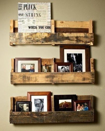 Meble z palet: Ideas, Pallets Wall, Pallet Shelves, Pallets Shelves, Wooden Pallets, House, Wood Pallets, Diy, Old Pallets