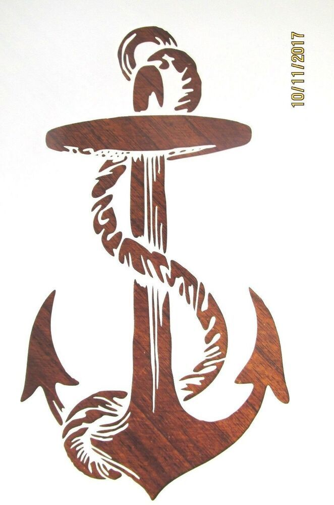 Anchor Stencil Reusable Color Draw Paint Mylar Stencil