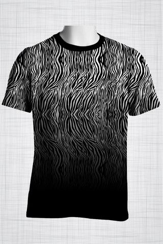 Plus Size Men's Clothing Zebra t-shirt  Wild Grunge Collection - Plus size men's clothing Fabric for this t-shirt is a lightweight polyester cotton fabric that,  * absorbs moisture  * transfers body perspiration away from the skin  * breathable and lightweight * tear resistant  * shrink resistant * quick drying  * comfortable