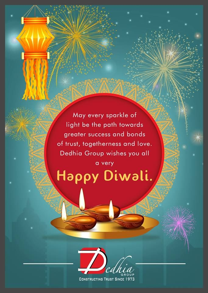 Happy Navratri Wishes Images: Dedhia Group Wishes You All Happy Diwali. Www.dedhiagroup
