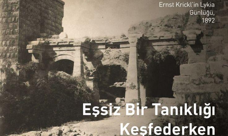 Eşsiz Bir Tanıklığı Keşfederken Ernst Krickl'ın Likya Günlüğü | .Konyaltı