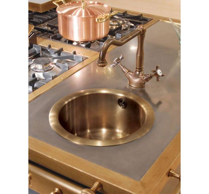 oltre 25 fantastiche idee su lavelli in rame su pinterest | cucina ... - Rubinetti Per Lavello Cucina