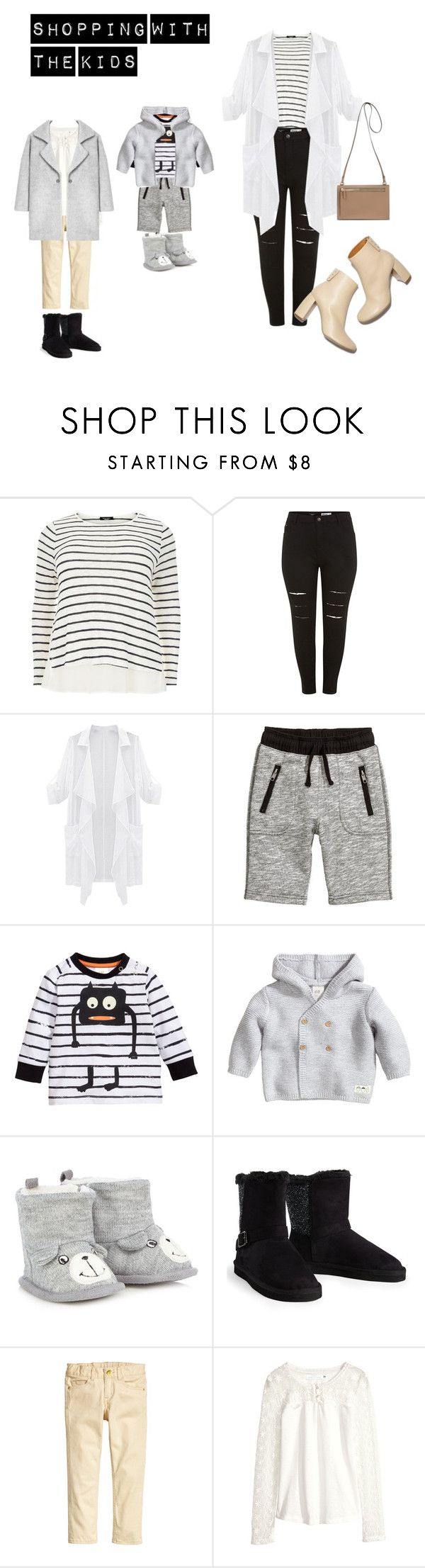 """""""Shopping with the kids."""" by daniellepearce13 on Polyvore featuring STELLA McCARTNEY, H&M, Kofta, Aéropostale, MANGO and comfy"""