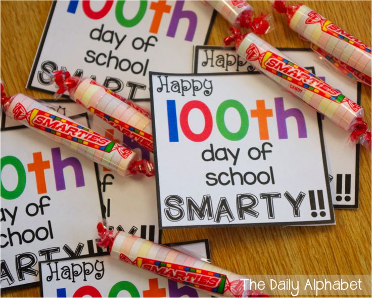 100th day of school FREEBIE!