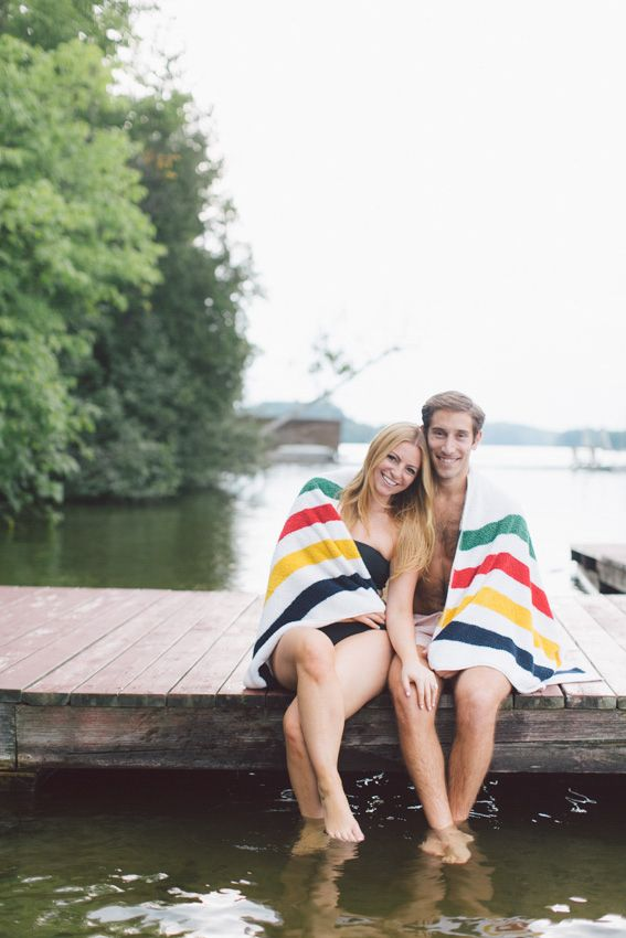Engagement Photos at Muskoka Cottage | Toronto Wedding Photographer | PurpleTree Photographers