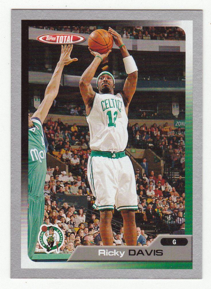 Ricky Davis # 44 - 2005-06 Topps Total Basketball - Silver
