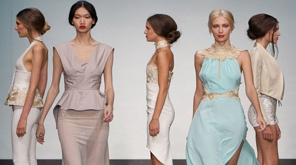Montreal Fashion Week! Crisp, Soft, and Flowing!