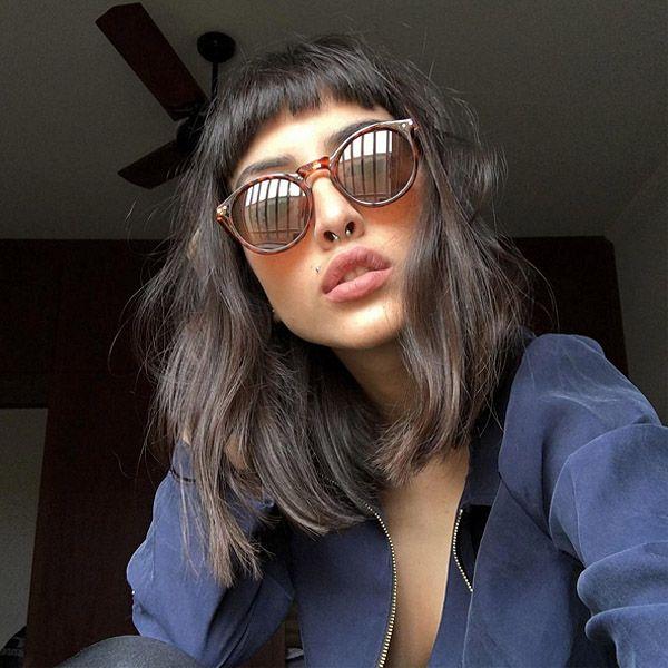 Novo corte de cabelo da youtuber Maju Trindade.