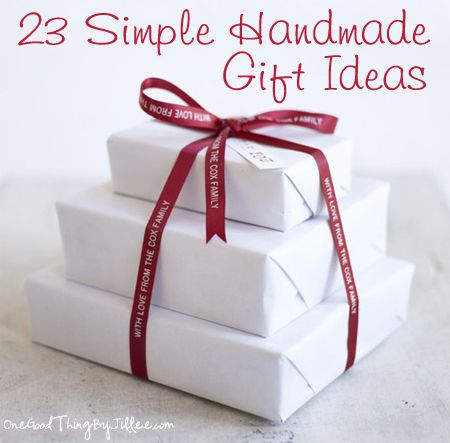 Simple Handmade Gifts Part Five