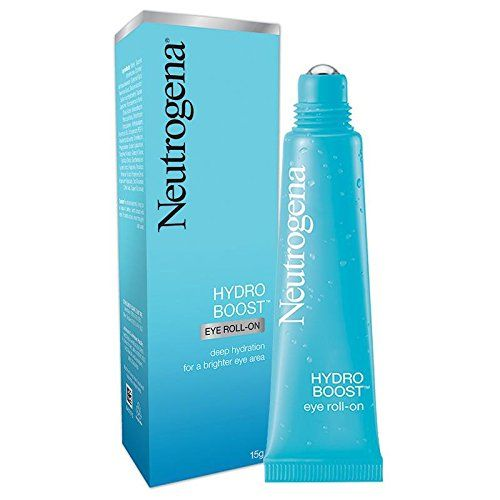 Neutrogena Hydro Boost Eye Roll-on 15g (0.5 Oz) : deep hydration for brighter eye area  //Price: $ & FREE Shipping //     #hair #curles #style #haircare #shampoo #makeup #elixir
