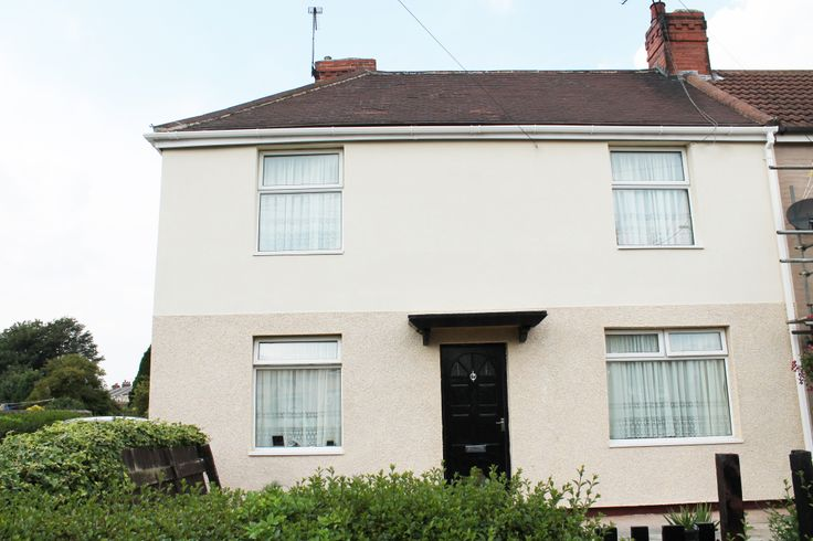 NWS - External Wall Insulation - Cream Acrylic And 1 Storey Dash