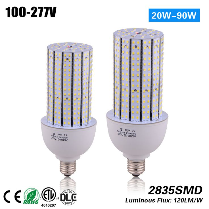 Free shipping high quality 120lm/w E26 E39 40w high bay led lighting corn bulb for 120W HPS replacement CE ROHS ETL 100-277vac #Affiliate