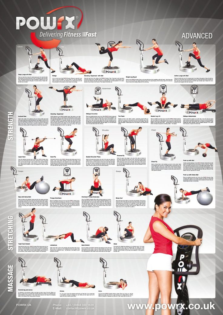 37 best images about whole body vibration exercises on