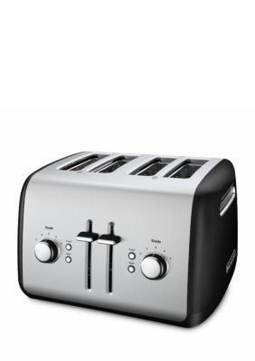 Kitchenaid  4-Slice Long Slot Toaster With High Lift Lever Kmt4116 - Black - One Size