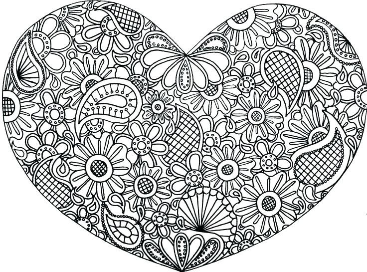 Hearts Coloring Pages For Adults Best Coloring Pages For Kids Heart Coloring Pages Cute Coloring Pages Mandala Coloring Pages