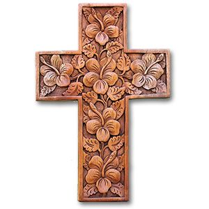 Christian Cross From Remote community In Bali