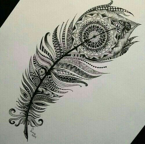 Image result for mandala snowy owl feather tattoo