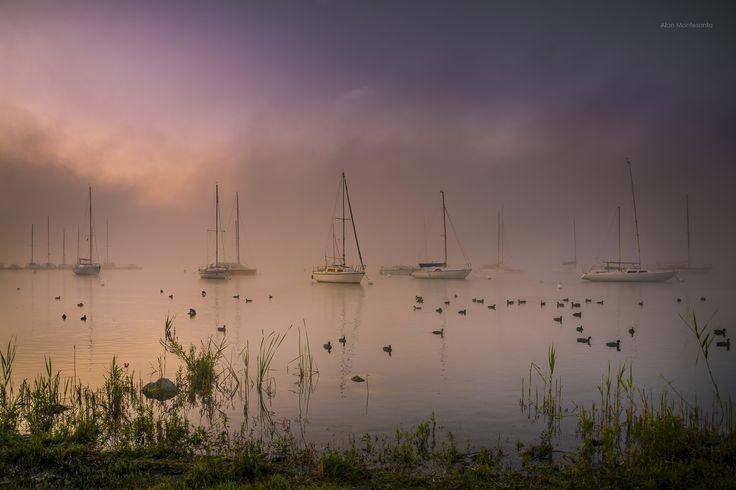Misty Sunrise by Alan Montesanto on 500px