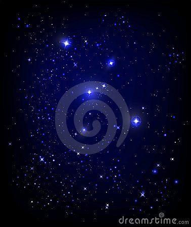 Starry Night Sky Stock Photo - Image: 15242450