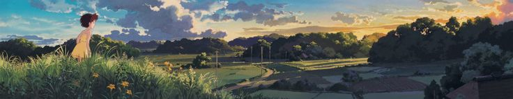 Looking for inspiration? Browse this amazing selection of 100 stills from Ghibli Studios movies http://www.dailymotion.com/video/x21uyav_studio-ghibli-when
