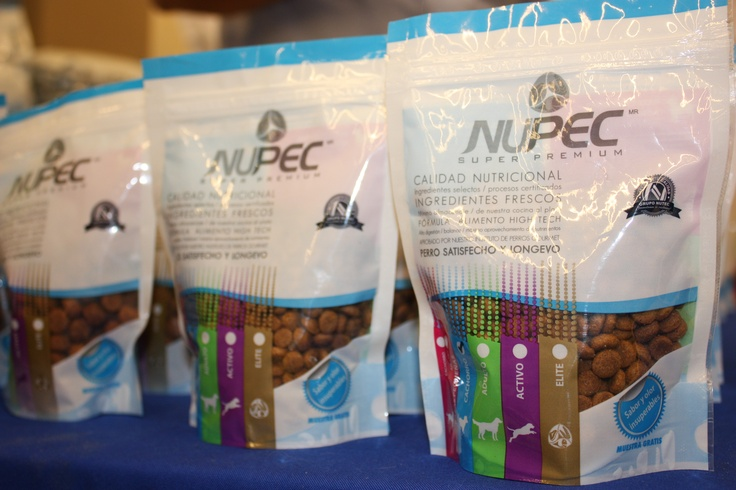 Recuerden contactar a su distribuidor para adquirir su producto predilecto de Nupec