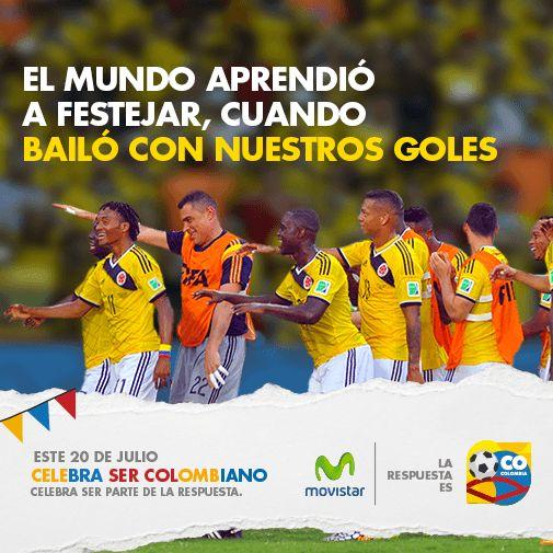 Movistar #CelebraSerCOlombiano
