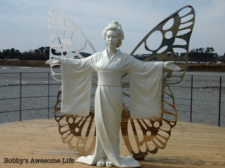 Bobby's Awesome Life: Daebudo Glass Island 대부도 유리섬 Japanese Angel