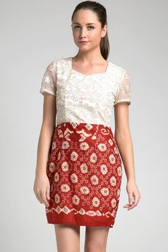 Batik dress | Dhievine for Berrybenka.com