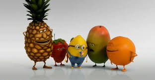 be fruits version minions