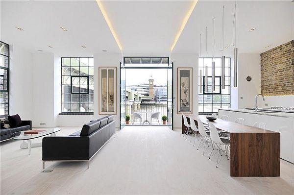 Appartement contemporain à Londres par Chiara Ferrari