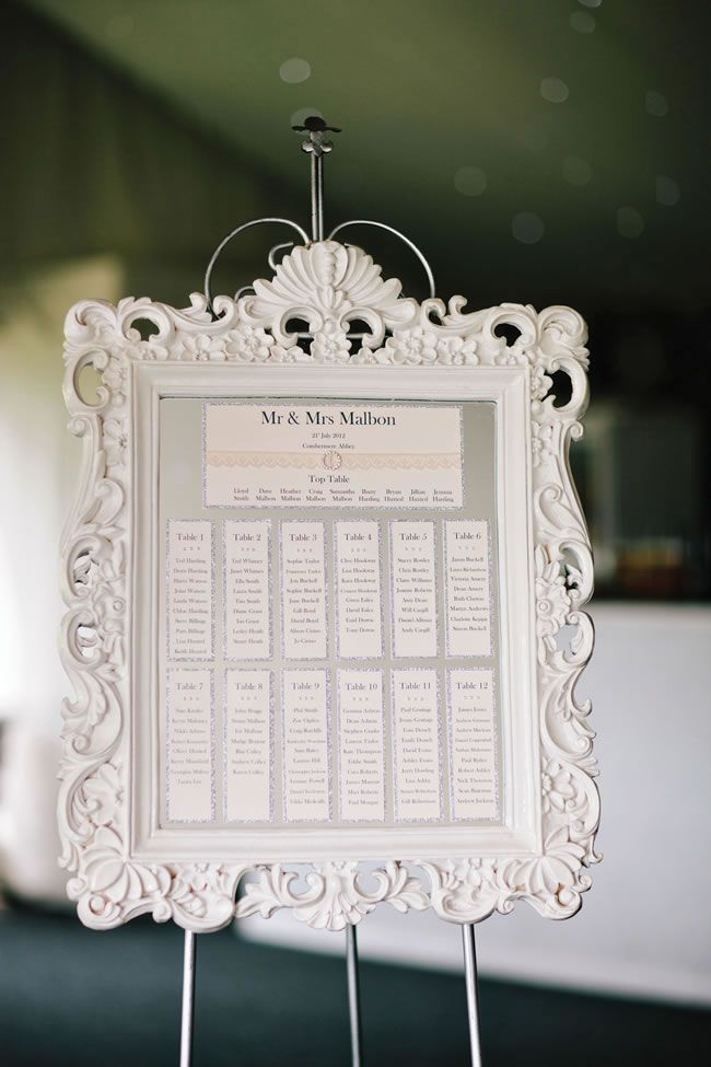 beautiful silver and pale pink wedding was full of lace details