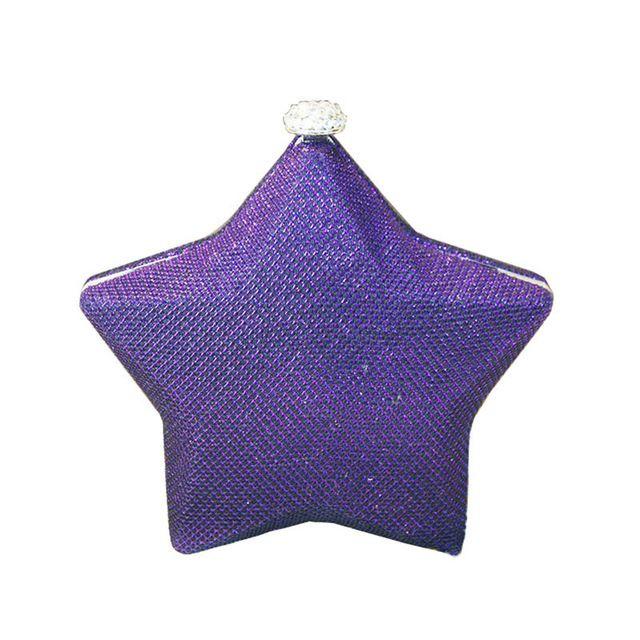 Meninas Saco Engraçado Estrela Estrela Mini Estrela de Cinco pontas-Strass Saco de Noite de Embreagem Saco Bonito Mão Socialite Saco Do Feriado presente XA1194A