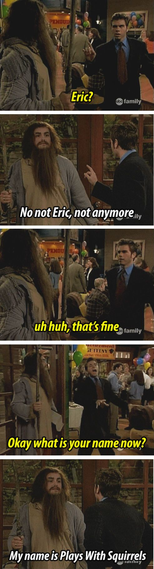 Boy Meets World (Eric's New Name)