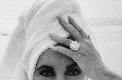 Herb Ritts, Elizabeth Taylor, Malibu, 1991