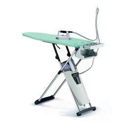 A sophisticated ironing system for the seamstress in your life! LauraStar Premium S3 Ironing Center-CentralVacuumStores.com