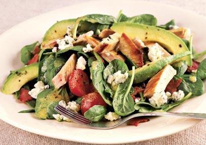 Low-Cal Salads: Low Cal Salad, Blue Chee, Salad Recipes, Cobb Salad, Low Calories, Flats Belly Diet, Salad Ideas, Diet Recipes, Turkey Avocado