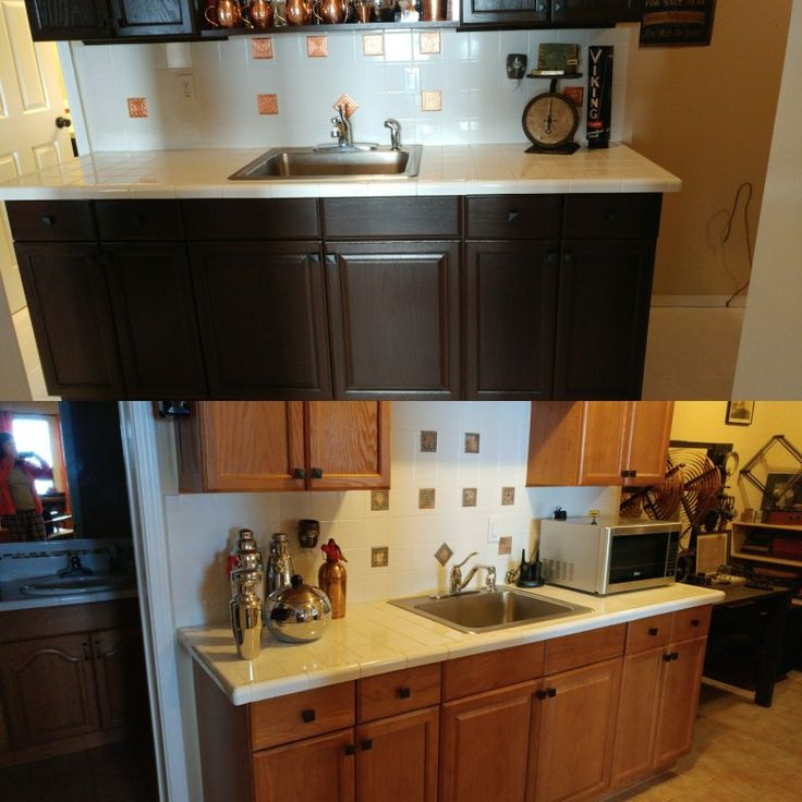 1000+ Ideas About Updating Oak Cabinets On Pinterest