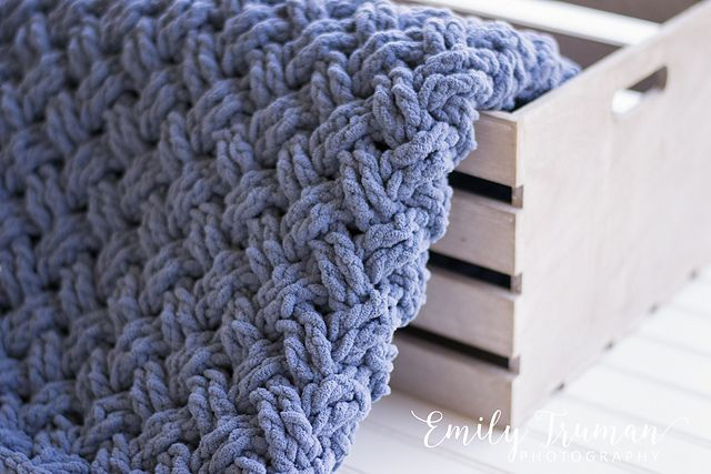 Diagonal Weave Blanket Pattern By Crochet By Jennifer