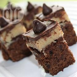 Foto recept: Brownies met koekjesdeeg