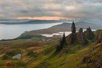 Величественные пейзажи острова Скай, Шотландия