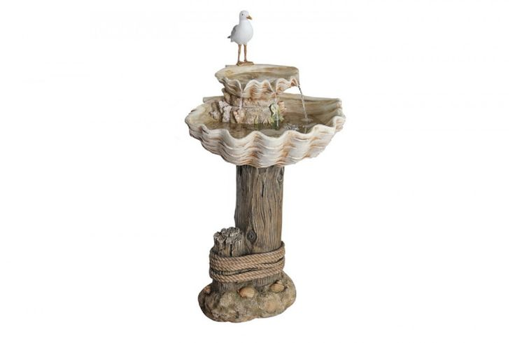 Seagull Resin water feature - 850mm high, includes pump. Our enormous on-site warehouse in Perth is continually stocked with water features, meaning you can find what you love and take it home today! Drovers inside and out.