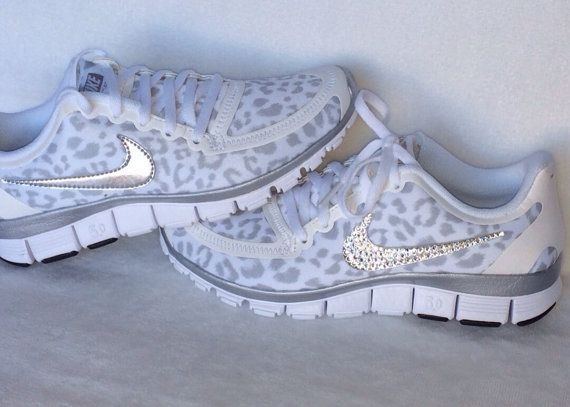 Nike Free Run 5.0 with Swarovski crystal by HarrietHazelDesigns Cheap Nike Shoes for Women