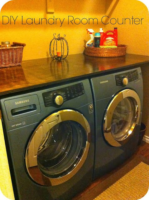 Barksdale Blessings: DIY Laundry Room Counter