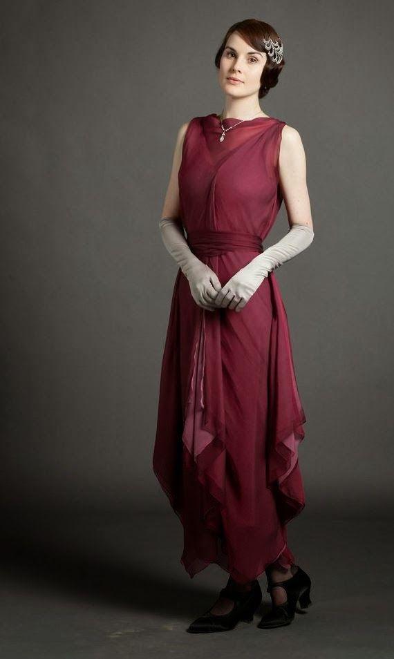 I love the fashion of Downton Abbey