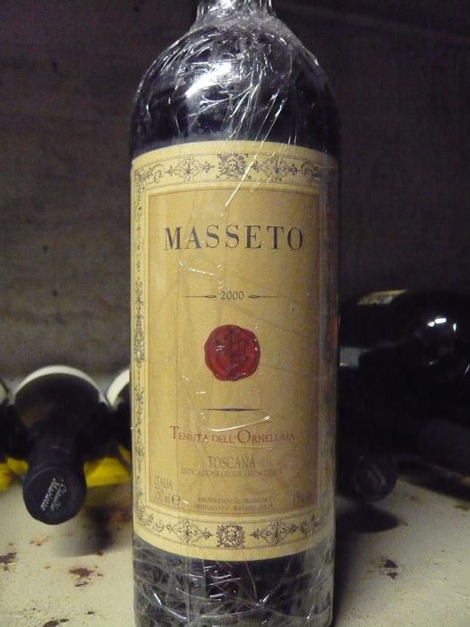 2000 Masseto, Tenuta dell'Ornellaia - 1 bottiglia 500