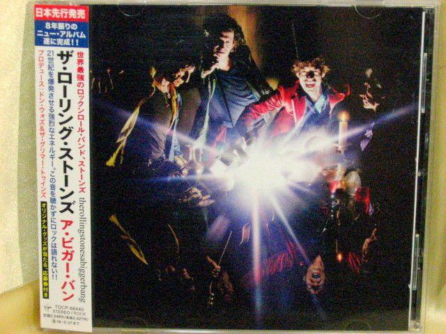 CD/Japan- ROLLING STONES, THE a Bigger Bang w/OBI RARE ORIGINAL 2005 TOCP-66440