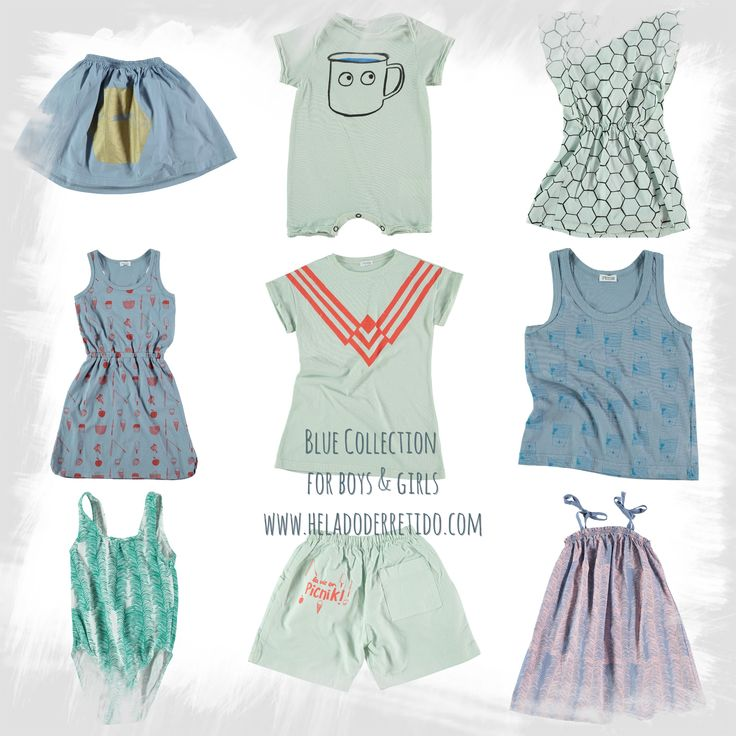 Just blue!!! Discover all the collection here: www.heladoderretido.com
