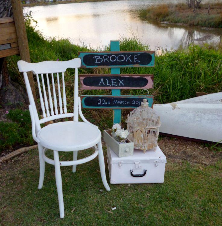 Blue Bayou-wedding décor for Brooke & Alex's wedding photos. www.capeoflove.com